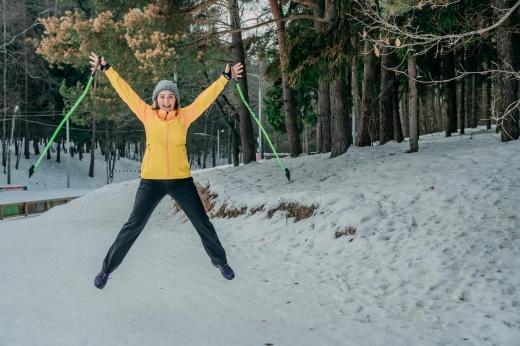 Палки для скандинавской ходьбы: как выбрать размер по росту и правильно купить их