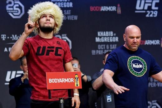 Возможные соперники Хабиба Нурмагомедова для боксёрского поединка