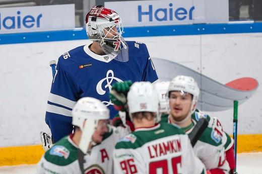 Гарипов провалил матч с бывшей командой. «Ак Барс» учинил разгром «Динамо»