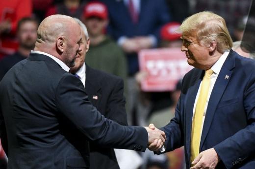 Президент UFC Дэна Уайт вызвал на бой в ринг журналиста ESPN