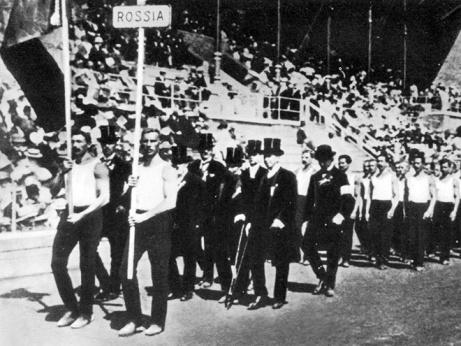 Срыв покровов. Выступал ли первый русский знаменосец на Олимпиаде