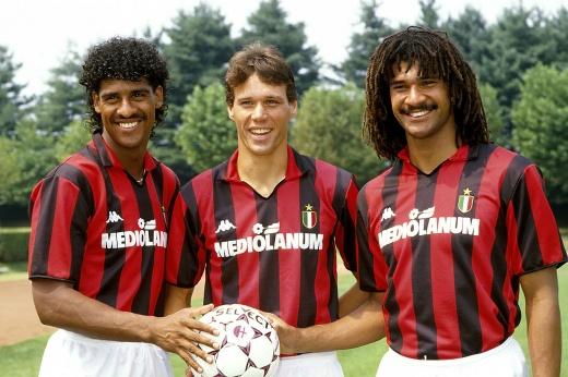 Где сейчас легендарное голландское трио «Милана». Благодаря им люди влюблялись в футбол