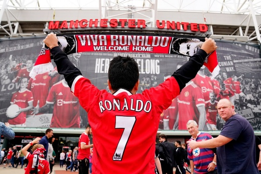 Футболки Роналду — самые продаваемые в истории АПЛ. «МЮ» реально уже отбил его трансфер?