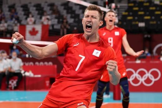 Ай, какие же красавцы! Российские волейболисты выбили канадцев с Олимпиады-2020