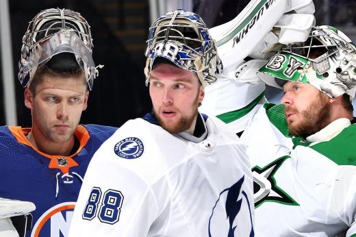 Три русских вратаря — лидеры в плей-офф по победам! Уникальный момент в истории НХЛ