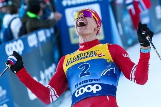 Александр Большунов стал чемпионом России в скиатлоне, но всех удивил тренер сборной