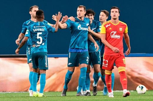 Дзюба забил Туле. «Зенит» вернулся на первое место