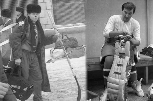 Советский хоккей в чёрно-белых фотографиях. Снимки, которые греют душу