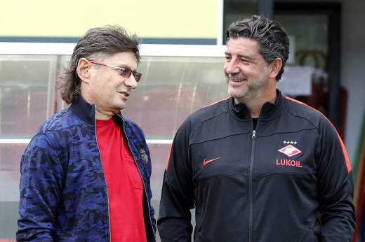 Федун выразил полную поддержку Витории. Обычно после этого «Спартак» убирает тренера