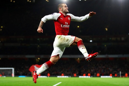 There was a talent at Arsenal that even Guardiola admired.  Where did Wilshire disappeared?