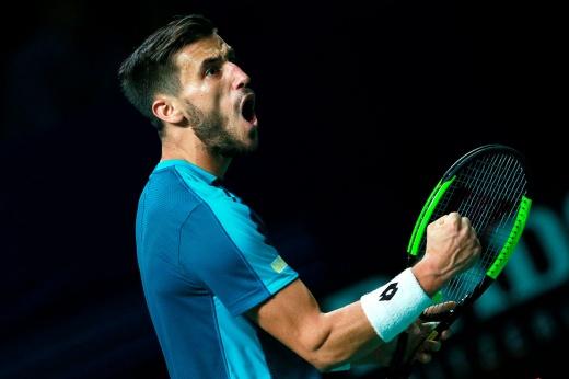 Скандал на турнире в Акапулько: боснийский теннисист Дамир Джумхур пригрозил судье, покинул корт и был дисквалифицирован