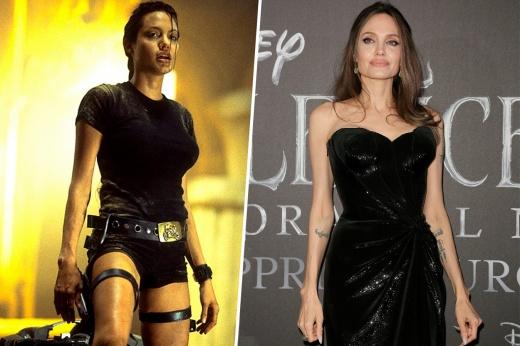 От расхитительницы гробниц до героини Marvel: как преображалась Анджелина Джоли