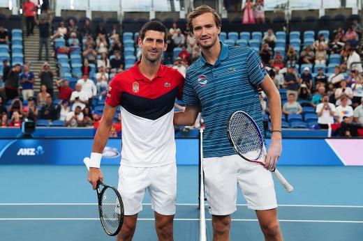 Россия повержена в полуфинале ATP Cup. Но Джокович долго хвалил Медведева