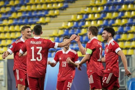 Скандал в матче молодёжных сборных России и Дании