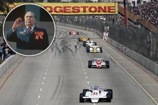 Смерть Брежнева сорвала советский этап Формулы-1. Он уже стоял в календаре на сезон-1983
