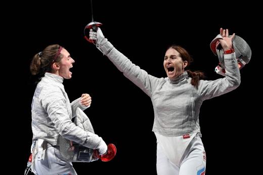 Наши саблистки — просто космос! Они опять устроили русский финал на Олимпийских играх
