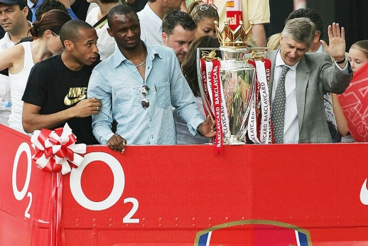Розыгрыш пенальти от Анри и Пиреса в матче «Арсенал» — «Манчестер Сити», видео