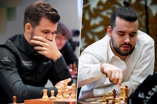 Главное – ферзя не уронить! Как Карлсен и Непомнящий ведут сражения в онлайн-турнирах