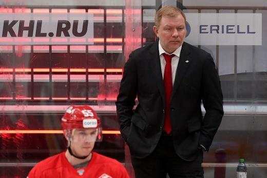 Олег Знарок покидает пост главного тренера «Спартака»