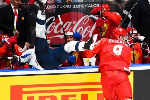 Овечкин был очень доволен после матча с США. Он знал, кого выкинул за борт