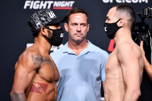 UFC Вегас 27: Дамир Исмагулов единогласным решением судей победил Рафаэла Алвеса, видео