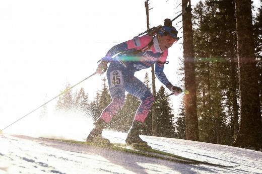 «Счастье есть». Куклина завоевала для России первую медаль чемпионата Европы по биатлону
