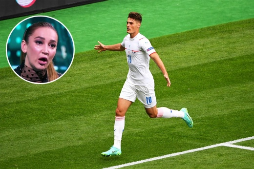 Шик забил самый крутой гол Евро-2020. Но в России главная футбольная тема — слёзы Бузовой