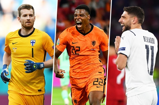 7 футболистов, которые уже выстрелили на Евро-2020