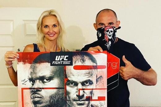 UFC Fight Night: Куницкая разрисовала Олейнику уши. Дядя Лёша её простил! LIVE!