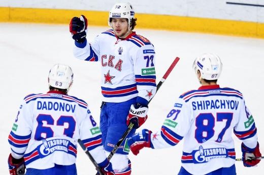 СКА — ЦСКА — 2:5, плей-офф КХЛ сезона-2020/2021, видео и обзор матча
