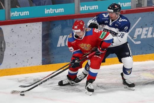 Дебют Кудашова в сборной не удался. Россия уступила Финляндии на Кубке Карьяла