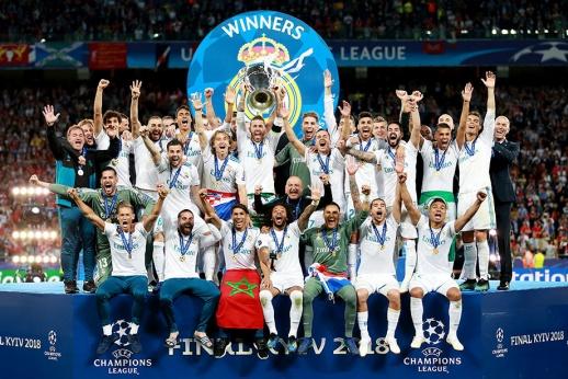 Как Зидан установил мировой рекорд с «Реалом». Лучшие фото с финала ЛЧ