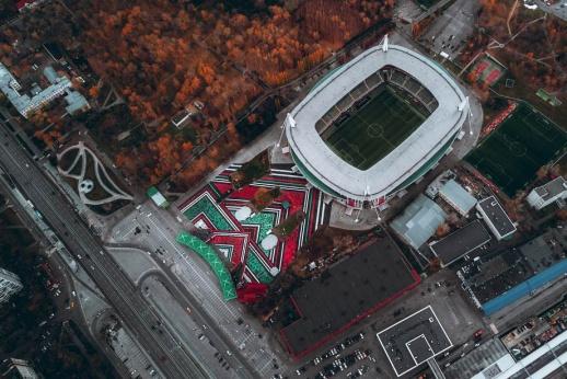 «Локомотив» представил самую большую каллиграфию в мире