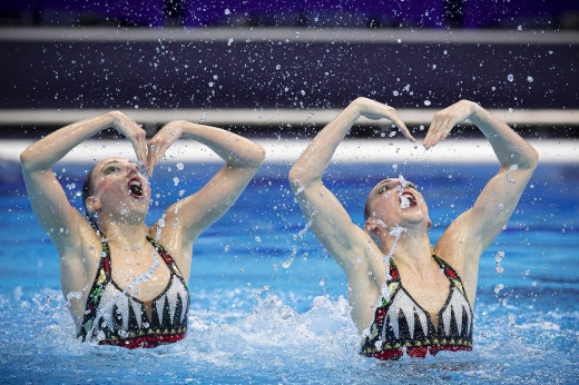 Олимпиада-2020. 2 августа. Наконец-то в бассейне наши синхронистки. Как мы их ждали!
