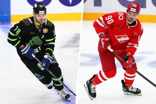 Новые игроки Континентальной хоккейной лиги, быстро забросившие первые шайбы в России