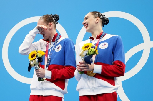 Российские синхронистки творят историю! Ромашина и Колесниченко недосягаемы на Олимпиаде