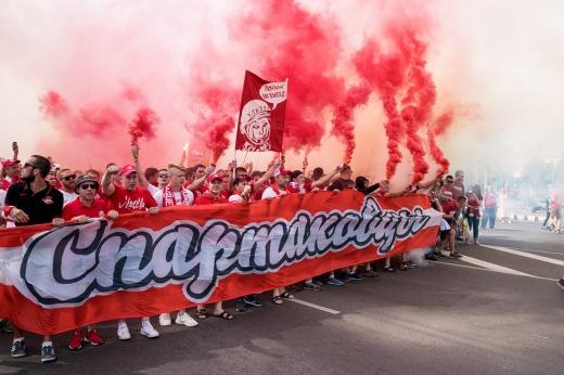 В Самару едут сотни фанатов «Спартака». Но на стадион их не пустят