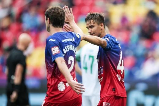 У ЦСКА появился в атаке новый талант. Нападающий Яковлев забил дебютный гол за команду