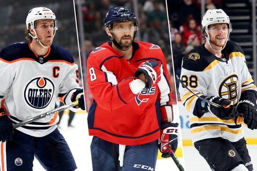 Овечкин, Пастрняк или Макдэвид? Кто возьмёт «Ришар» в этом сезоне НХЛ