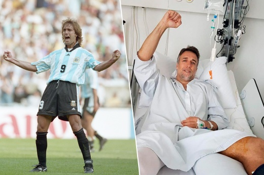 Легенде аргентинского футбола поставили протез. Что это значит?