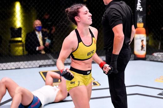 Антонина Шевченко – Ариана Липски, UFC 255, превью боя, видео приёма
