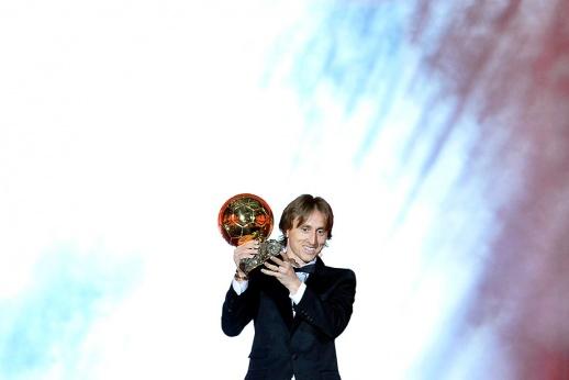 Лука Модрич получил «Золотой мяч». Как это было