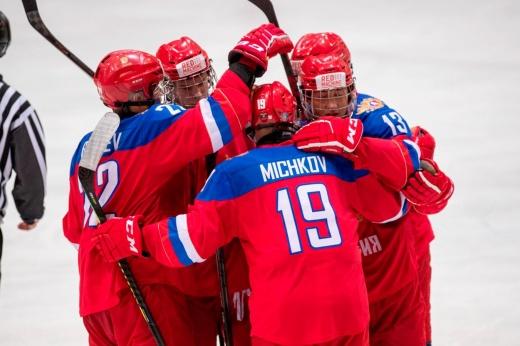 Чехия — Россия — 3:7, видео, голы, обзор матча Кубка Глинки/Гретцки