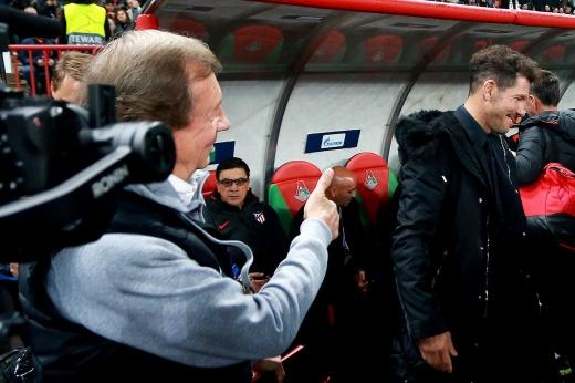 История отношений Диего Марадоны и Диего Симеоне – ничья 0:0 в матче Лиге чемпионов «Атлетико» — «Локомотив»