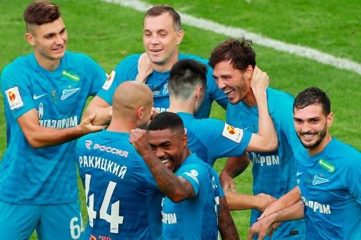 «Зенит» уверенно стартовал в новом сезоне. Разгромил соперника и взял первый трофей