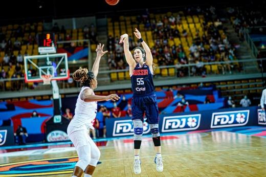 Женская сборная России обыграла Испанию на Евробаскете, но де-факто не получила место в квалификации чемпионата мира