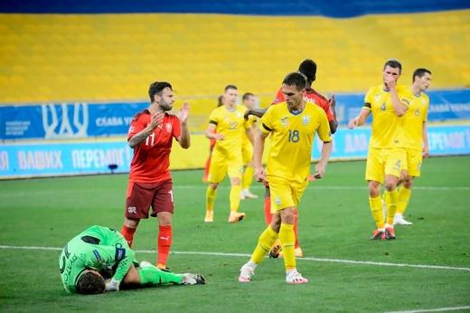 Швейцарцы посадили сборную Украины на карантин. Матч отменили, хотя УЕФА был не против