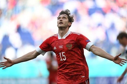 Первый гол России на Евро! Миранчук классно исполнил