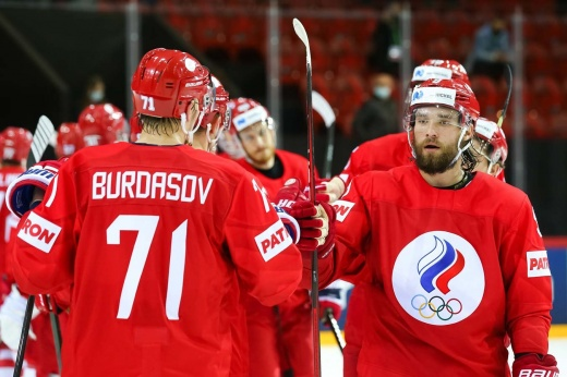 Как сборная России готовилась к матчу со Словакией на чемпионате мира — 2021