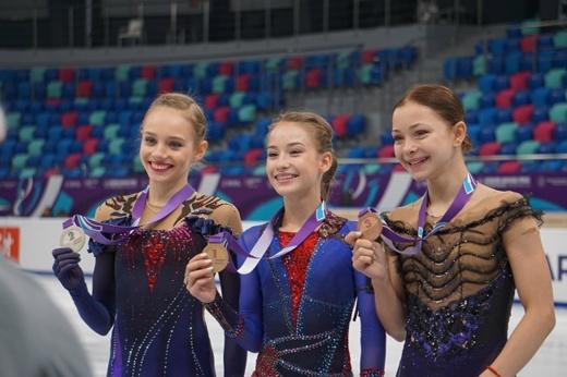 Наши фигуристки разгромили иностранных соперниц в Красноярске. У России первые пять мест